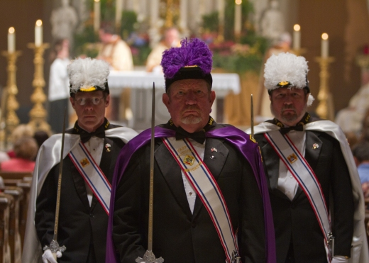 Knights of Columbus in Uniforms 2011